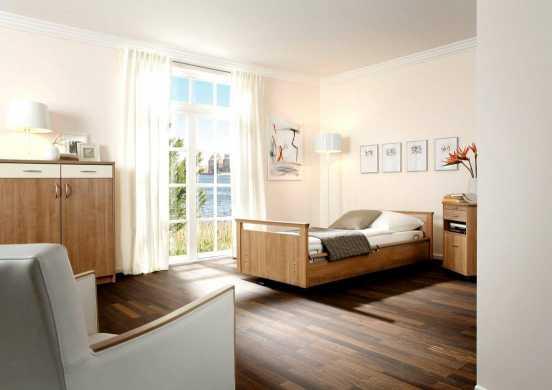 Maximum an Wohnkomfort dank funktionalem Pflegebett