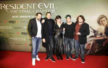 RESIDENT EVIL: THE FINAL CHAPTER – Social Movie Night in Berlin – mit Video