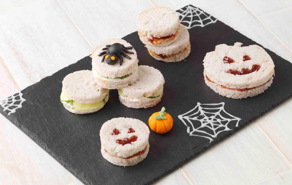 Schaurige Halloweensnacks ohne Gluten