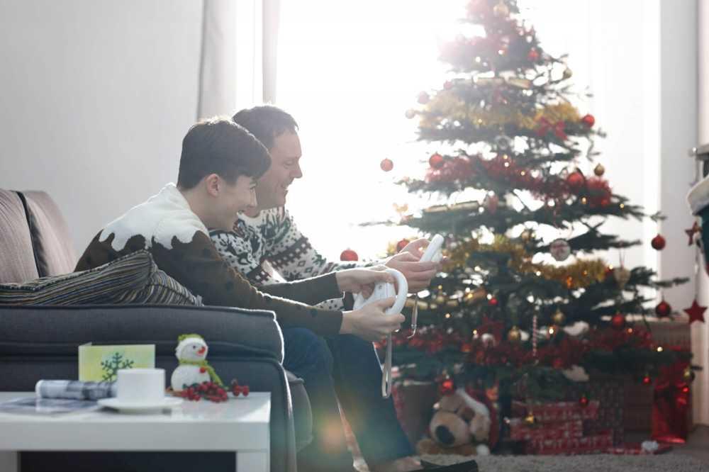 Es ist eine Tradition: Zu Weihnachten kommt die ganze Familie zusammen
